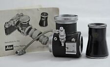 LEICA M CAMERA VISOFLEX I REFLEX HOUSING WITH VIEWER, CABLE RELEASE, INST.
