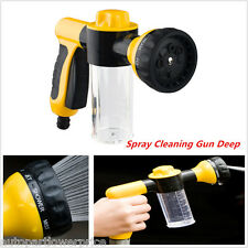 Car Deep Care Cleaning Pipe Spray Gun High Pressure Wash Snow Foam Water Gun Kit