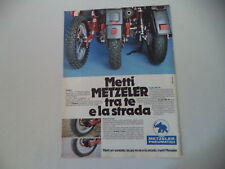 advertising Pubblicità 1983 PNEUMATICI METZELER ENDURO/CROSS