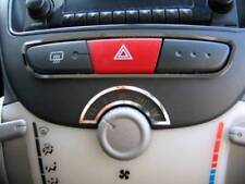 D Toyota Aygo Chrom Rahmen für Schalter Warnblinker/ Gebläse - Edelstahl poliert