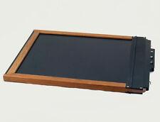 Black Walnut Calumet 8x10 Wooden Film Holder For TOYO Sina Deardorff B&J WISNER