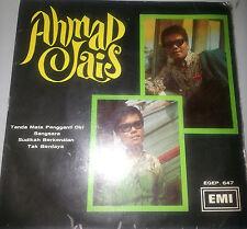 Mega Rare Malay EP Vinyl AHMAD JAIS 1968 Psych Freakbeat Fuzzy Garage Pop 60s