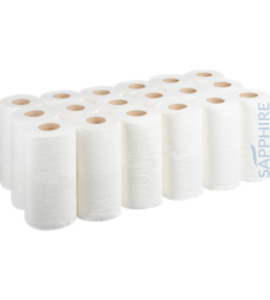 White Toilet Roll - Pack of 40