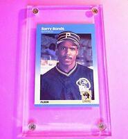 1987 Fleer Glossy Barry Bonds Pittsburgh Pirates #604 Baseball Card MINT fresh