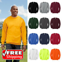 Port & Company PC90T Men's Tall Essential Fleece Pullover Relaxed Sweatshirt