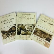 3 Postcard History Series Books Chicago Hotels Around Pottstown Butler County PA