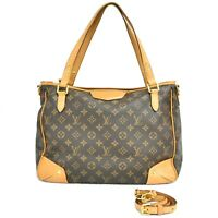 Louis Vuitton Estrela MM M41232 Monogram 2way Tote Shoulder Crossbody Hand Bag