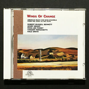 Winds Of Change: American Music For Wind Ensemble NM,M- '97 CD New World 80211-2