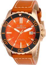 Invicta 25646 Pro Diver Men's 45mm Tin Bronze Rose-Tone Orange Dial Automatic