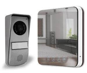 Video Türsprechanlage Spiegeleffekt Sprechanlage Gegensprechanlage 2 Draht