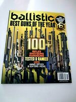 "Ballistic Best Guns Of The Year "" Rifles, Shotguns, Handguns "" Dec/Jan 2021"