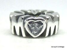NEW! AUTHENTIC PANDORA SILVER CHARM MOTHERS PRIDE SPACER #791520CZ