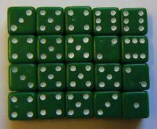 Poker e giochi di carte verde in plastica