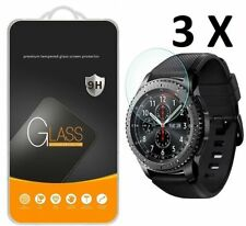 3 X Tempered Glass Screen Protector for Smart Watch Samsung Gear S3 Frontier