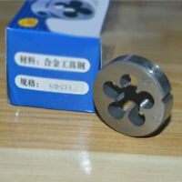 "(1pcs)HSS Mould Right Hand Die 1/2""-20UNF Dies Threading 1/2-20UNF Accessory"