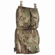 More details for british army plce assault bergen side pouch - utility ammo pocket mtp multicam