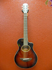 Yamaha APXT2 3/4 Size Acoustic Electric Guitar, Dark Red Burst, Free Shipping