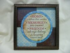 New Home Is Where Love Resides Framed Art Interiors By Design 10 X 10