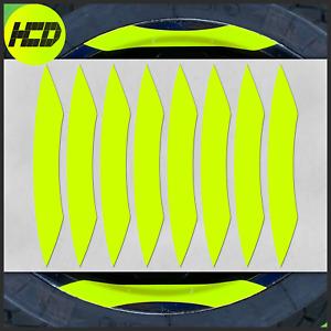 Fluorescent Motorcycle Wheel Stripes Stickers rim tape Husqvarna 701 Graphics