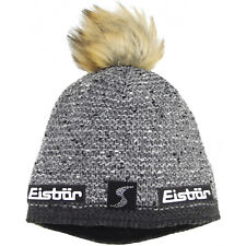 Eisbär Philine Lux Crystal SP Damen Winter-Strickmütze grau/meliert