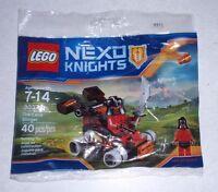 30374 Lego Rare Promo The Lava Slinger Nexo Knights Ash Attacker Minifigure