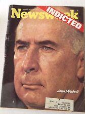 Newsweek Magazine John Mitchell May 21, 1973 101216R