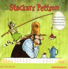 Livre AUDIO CD pettersson & Findus suédois, stackars pettson, NEUF