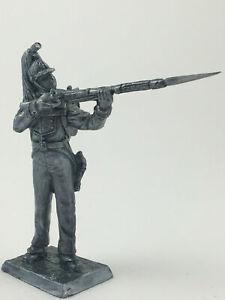 NAPOLEONIC WARS French dragoon Metal Figure 1/32 Tin Toy Soldiers