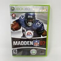 NFL Madden 07 Xbox 360 Football Video Game Brand New Factory Sealed