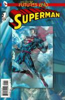 Futures End Superman #1 3D Cover Unread New Near Mint New 52 DC 2014 LBX2