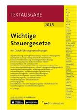 Wichtige Steuergesetze (2018, Set mit diversen Artikeln)