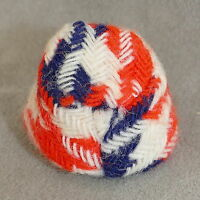 Doll Fashion Clothes Hat Possible Dawn or Rockflower ??? Red White Blue