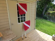 3' Rod Holder Flagpole AND Dive Flag Combo from South Wind Designs