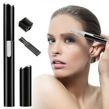 Ladies Electric Eyebrow Razor Trimmer Shaper Shaver Bikini Legs Hair Remover Set