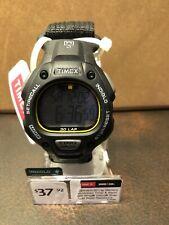 Timex Ironman T5K693 black strap Indiglo 100 meter water resistant 30 lap memory