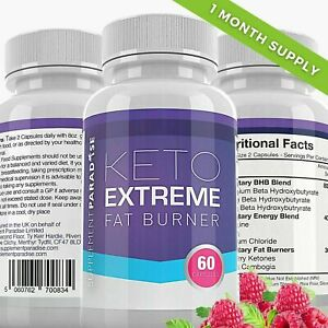 KETO EXTREME FAT BURNER 60 CAPSULES - ONE MONTH SUPPLY