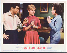BUTTERFIELD 8 original lobby card ELIZABETH TAYLOR/LAURENCE HARVEY/SUSAN OLIVER