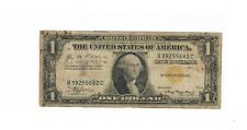 ONE DOLLAR SILVER CERTIFICATE  [ YELLOW SEAL-NORTH AFRICA NOTE ]