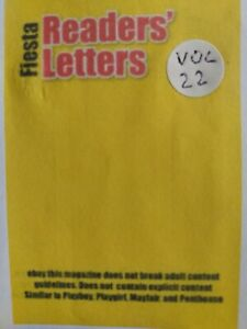 Fiesta Readers Letters Number 22 Rare issue published 2000