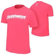 "WWE Hulk Hogan Mens ""Hulkamania"" Pink Susan G. Komen T-shirt & Bandana New 2XL"