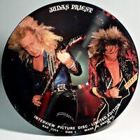 """Judas Priest Interview Picture Disc 12""""  Vinyl LP  Near Mint BAK 2054"""