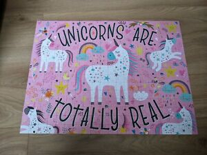 Corner Piece Jigsaw 300 Unicorns Are Totally Real Complete