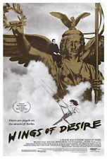 WINGS OF DESIRE Movie POSTER 27x40 Bruno Ganz Peter Falk Solveig Dommartin Otto