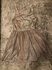 Gold Shimmer Sexy Party Dress