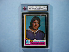 1974/75 O-PEE-CHEE NHL HOCKEY CARD #302 GEORGE FERGUSON ROOKIE KSA 8.5 NMMT+ OPC