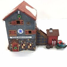 Dept 56 Blue Star Ice Co New England Village 1993 #56472 Retired Model No Box