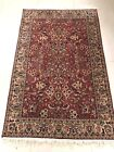 Vintage Hand Knotted Indian Amritsar Rug