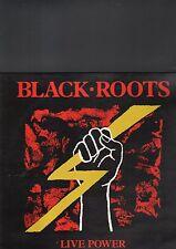 BLACK ROOTS - live power  LP