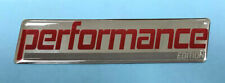 PERFORMANCE EDITION Red Sticker/Decal 85mm x 20mm - HIGH GLOSS DOMED GEL FINISH