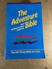 The Adventure Bible: New International Version NIV Study Bible For Kids